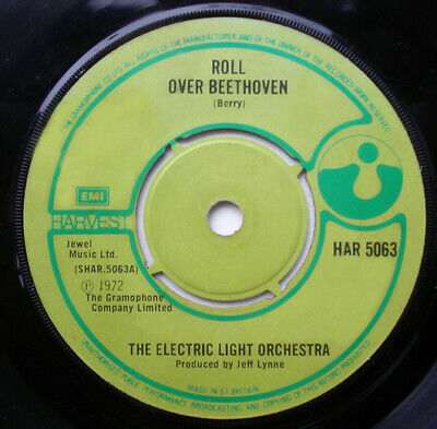 £4.05 • Buy Electric Light Orche Roll Over Beethoven Vinyl 7 B5783b