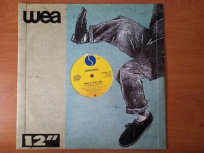 £2 • Buy  MADONNA  - WHO'S THAT GIRL(Extended Version) 12  Vinyl Sire 1987 Good Condition