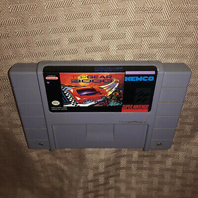 £39.35 • Buy VGC Top Gear 3000 Super Nintendo, SNES Authentic Rare Game Cart Tested