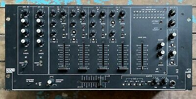 £250 • Buy Rane MP44 Mixer (works Great But X3 Fader/knob Caps Are Missing)