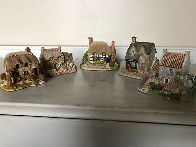 £13.95 • Buy 5 X Lilliput Lane Houses - The Greengrocers / Wight / Marigold / Cobblers  Etc