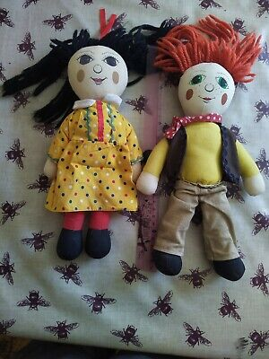 £60 • Buy Rosie From Rosie And Jim Doll Ragdoll Beanie Soft Toy 11  Tall 1993 Central TV