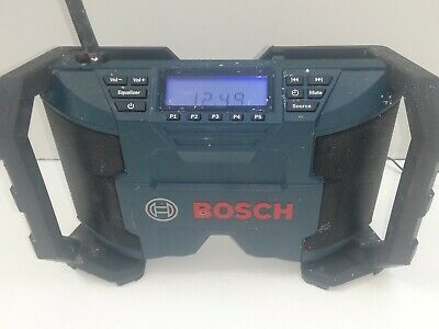£40 • Buy Bosch Professional 10.8v Corded Cordless Jobsite Site Radio For Spares Repair