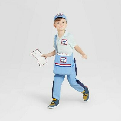 $15.99 • Buy Halloween Toddler Mail Carrier Costume (with 2 Accessories) 2T-3T - Hyde & EEK
