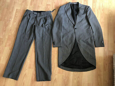 £45 • Buy Taylor & Wright Mens Grey Suit - Tail Jacket & Trousers. Wedding.