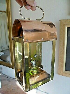 £150 • Buy SHERWOOD  BR/WR Copper And Brass Carriage/Signal GUAGE Lamp  BRITISH RAIL Intact