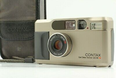 $ CDN1153.46 • Buy 【Exc++++ In Case】 Contax T2 35mm Point & Shoot Film Camera From Japan #1159