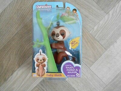 AU13.18 • Buy Fingerlings WowWee Baby Sloth Marge 40+ Sounds Touch Motion Interactive Pet