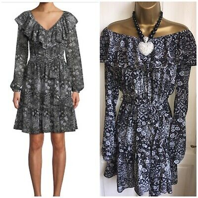 £5 • Buy Michael Kors Michael Print Frill Dress // S // 8/10/12 Sold Out