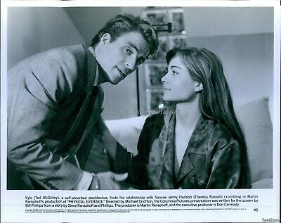 $ CDN24.97 • Buy 1989 Actor Ted Mcginley Theresa Russell In Physical Evidence Movie Photo 8X10