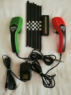 £14.99 • Buy Micro Scalextric Disney Pixar Power & Controllers Set In Good Working Condition