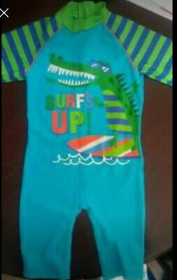 £3 • Buy Boys All In One Swimsuit Age 2/3