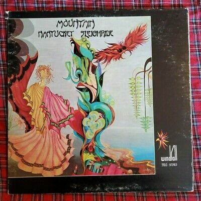£2.91 • Buy Nantucket Sleighride LP By Mountain Vinyl 1971 VG Windfall5500 Windfall Records
