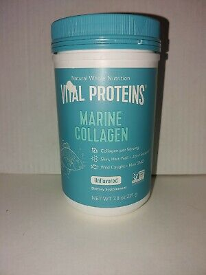 $28.85 • Buy Vital Proteins Marine Collagen 7.8oz  FREE SHIPPING!  EXP:06/22