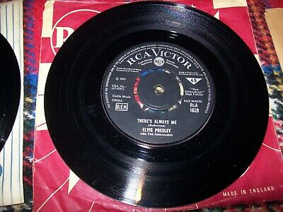 £15 • Buy Elvis Presley - There's Always Me - Judy...1961 Rca Victor 45   RCA 1628