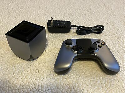$65 • Buy OUYA Gaming System & Controller Silver OUYA1  TESTED & WORKS