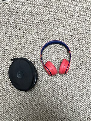 $ CDN48.54 • Buy Beats By Dr. Dre Solo3 Club Collection On Ear Wireless Headphones - Club Red