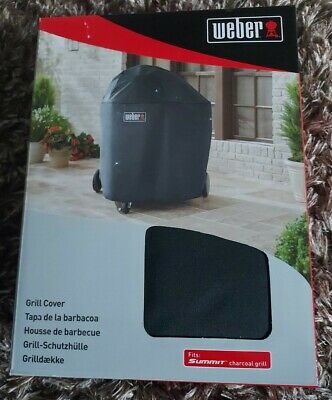 $ CDN113.35 • Buy Weber 7173 BBQ Grill Cover (Fits Summit Charcoal Grill) NEW AND BOXED