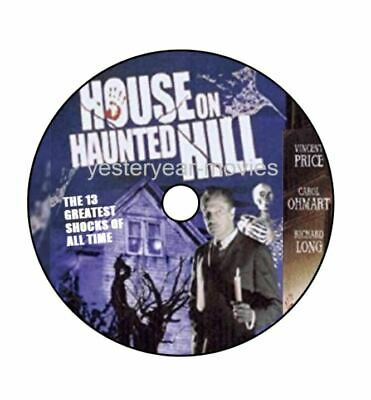 £2.45 • Buy House On Haunted Hill 1959  A Yesteryear Classic DVD  Free Delivery
