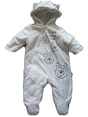 £8.50 • Buy Unisex Baby All In One/Snowsuit Aged 3-6 Months Old. Ideal For The Cold Weather.