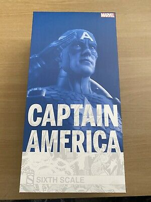 £79 • Buy Sideshow Captain America 1:6 Scale Articulated Figure