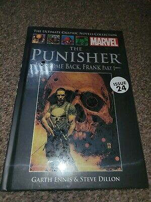 £6.50 • Buy *SEALED*The Ultimate Graphic Novels Collection Marvel. The Punisher Welcome Back