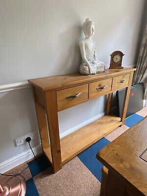 £100 • Buy Solid Oak Console Table