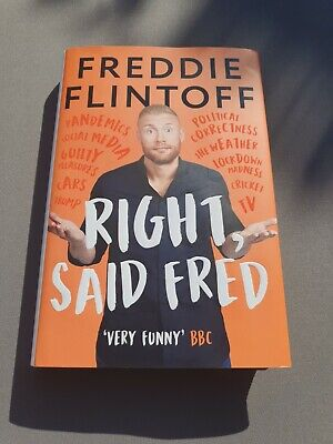 £1.99 • Buy Right, Said Fred By Andrew Flintoff (Hardcover, 2020)