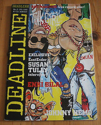 £9.99 • Buy Deadline #9 - July 1989 - Tank Girl Susan Tully From Eastenders - Acceptable