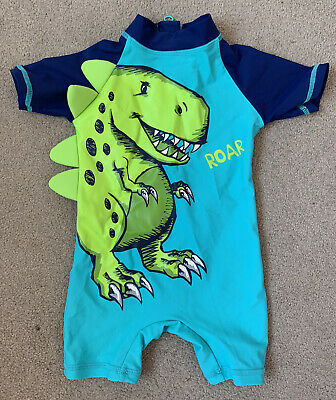 £1.50 • Buy Baby Boys All In One Dinisaur Swimsuit 6-9 Months. Matalan