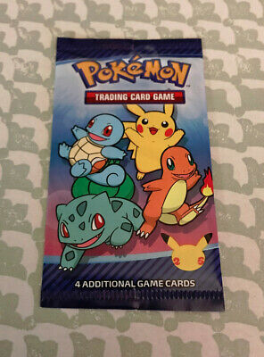 $5.75 • Buy 1x Pokemon 25th Anniversary McDonalds Special Promo Sealed Card Pack Free Ship!