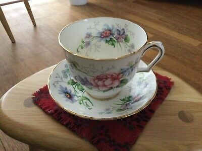 £11 • Buy Crown Staffordshire Breakfast Cup And Saucer 1/2 Pint