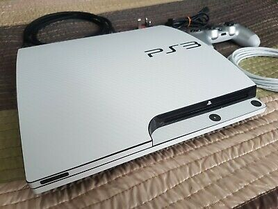 AU282.56 • Buy Sony Playstation 3 Slim Console 1tb Cfw 4.86 & Official Ps4 Silver Controller