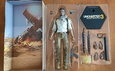 £239.99 • Buy Sideshow Nathan Drake Uncharted With Customised Headsculpt Hot Toys Scale 1/6