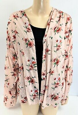 $ CDN73.65 • Buy Anthropologie Andersen & Lauth Pink Combo Floral Cardigan, One Size, NWT