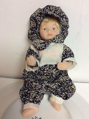 """$ CDN8.74 • Buy Artist Made All Bisque Beautiful Small Doll 6.5"""" Long"""
