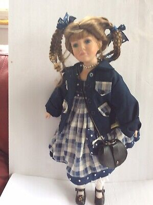 """$ CDN9.99 • Buy Delton Products Corp 20""""PORCELAIN Doll  Rachel"""" Limited Edition 222/1500"""