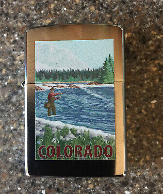 $24.95 • Buy Colorado Outdoorsman Zippo Lighter (with Extra Wicks And Flints)