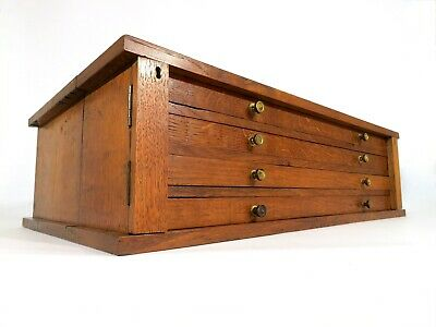 £250 • Buy Antique Specimen Cabinet Bank Of Drawers Collectors Chest