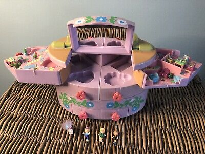 £6.50 • Buy Blue Bird Polly Pocket 1991 Play House With Figures (make Up Version)