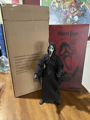 £107.83 • Buy Sideshow 100447 1/6 Scale Scream Ghost Face Collectible 12  Action Figure USED