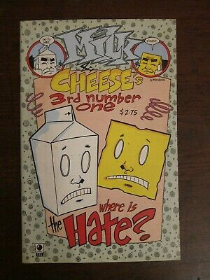 $1.10 • Buy Milk And Cheese  Third Number One  - 4th Issue - Evan Dork-in