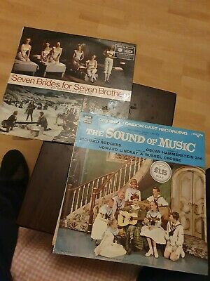 £1.40 • Buy Seven Brides For Seven Brothers & The Sound Of Music 12  Vinyl Albums