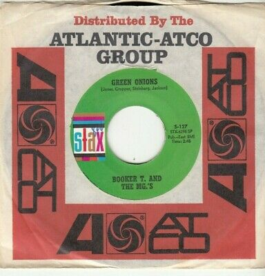 £5.03 • Buy Booker T. & The Mg's - Green Onions  - Stax 45 - Great Shape