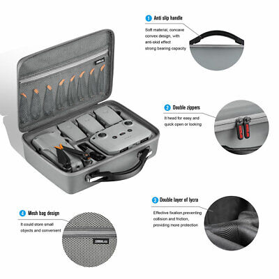 AU58.31 • Buy Carrying Case Box Waterproof Shockproof Drone Accessories For DJI Mavic Air 2S