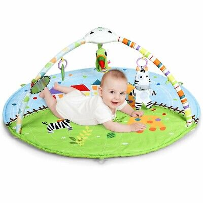 £42.31 • Buy  Baby Activity Educational Gym Play Mat With Hanging Toys