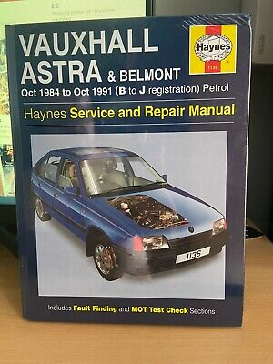 £8.20 • Buy Haynes Vauxhall Astra And Belmont Service And Repair Manual