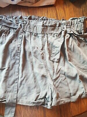 £4.99 • Buy Ladies Safari Shorts Tie Belt 16 (New With Tags)