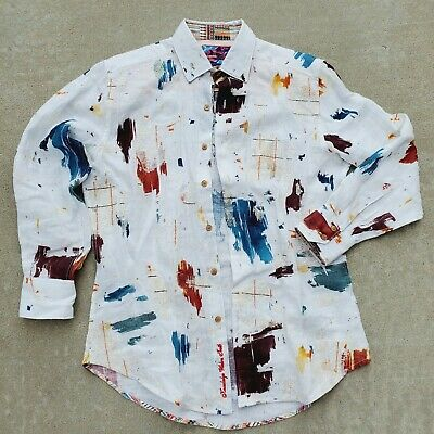 $104.95 • Buy Rare Robert Graham Western Aztec Shirt ☆ Mens S, Button L/S Embroidered Horses