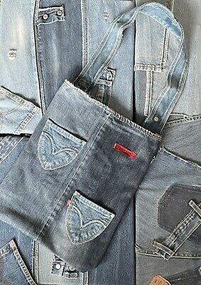 £15 • Buy Levis Jeans Bag Tote Reworked Recycled Upcycled Accessory